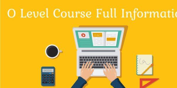 O-Level-Course-Syllabus